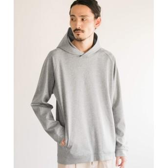 [アーバンリサーチ] tシャツ ポンチルーズプルオーバーパーカー メンズ Gray S