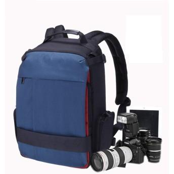 アウトドアスポーツショルダープロフェッショナルデジタルカメラバッグポリエステル素材防水盗難防止耐震性一眼レフシングルショルダーアウトドアトラベルバッグレジャーバッグレインカバーサイズ27.5 Cm  17.0 Cm  44.0 Cm (色 : Black)