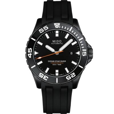 MIDO 美度 Ocean Star 海洋之星深潛600米陶瓷潛水錶-44mm M0266083705100