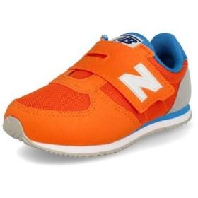 new balance ニューバランス IV220 ベビースニーカー 390220 ORB オレンジ/ブルー