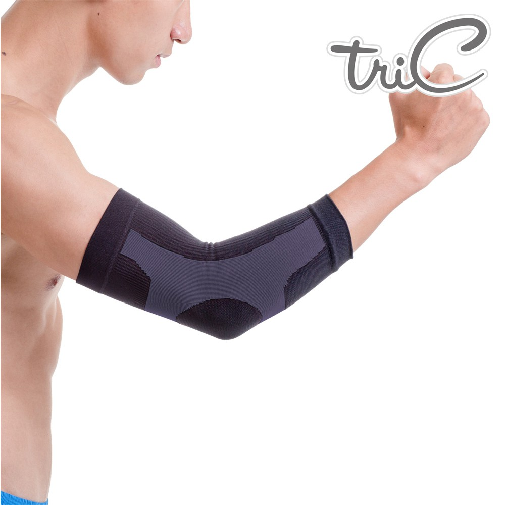 Tric 手臂護套-灰色 1雙 PT-K20 台灣製造 專業運動護具
