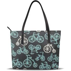 バッグ トートバッグ 自転車モード ハンドバッグ ショルダーバッグ 革 収納 大容量 軽量 防水 盗難防止 誕生日 入学式 母の日 ビジネス 旅行 多機能