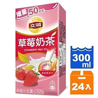 立頓 草莓奶茶 300ml (24入)/箱【康鄰超市】