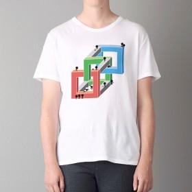 Tシャツ Dimensional028 (インクジェットプリント)