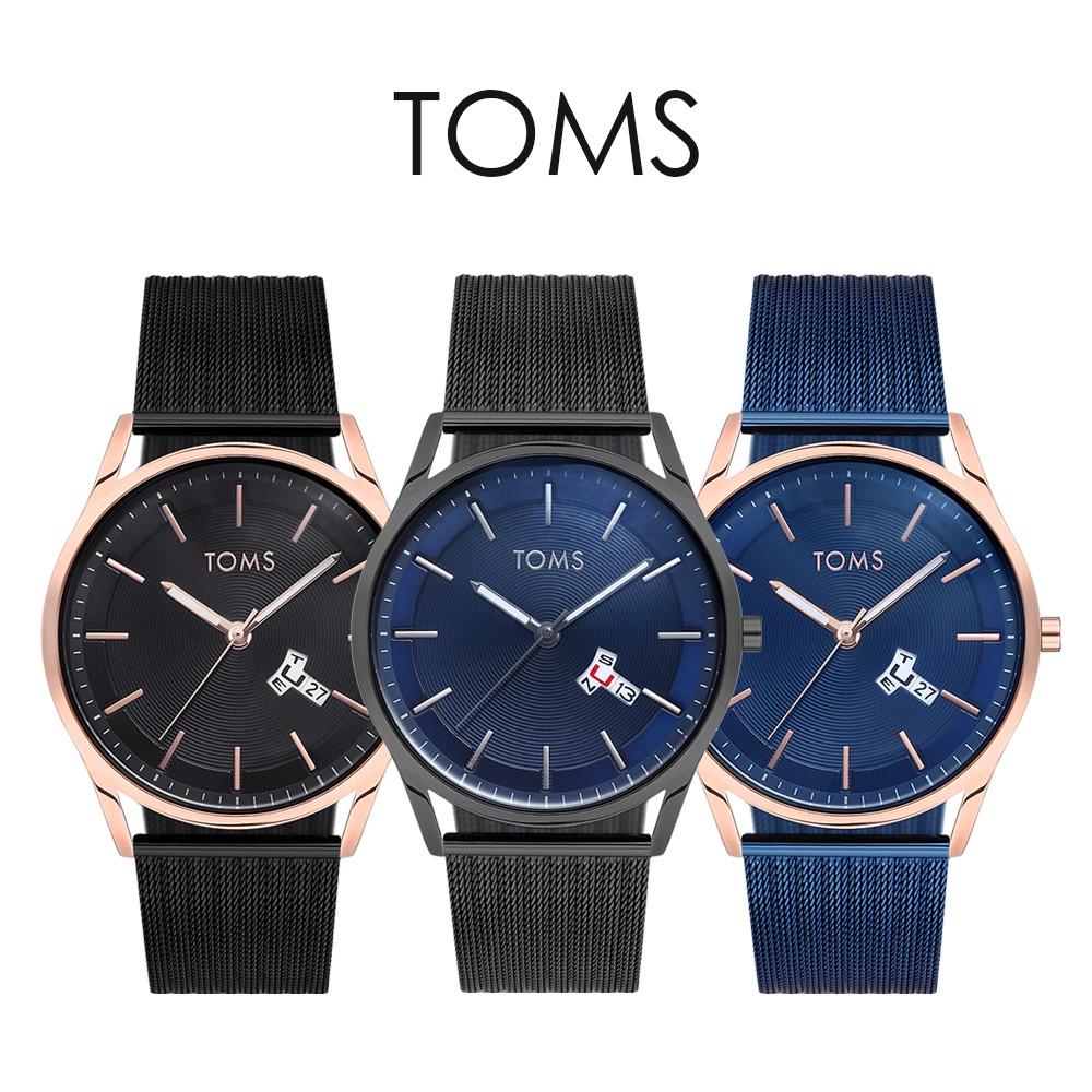 TOMS T字星期日期手錶(1818)