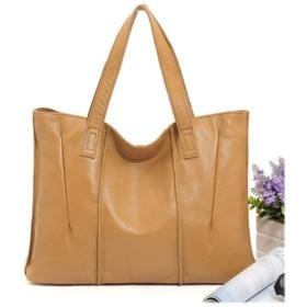 レザーレディースショルダーバッグ、大容量トップ層牛革トップハンドバッグファッションレディースハンドバッグハンドバッグバッグ