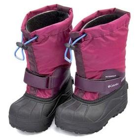 [コロンビア] 女の子 キッズ 子供靴 スノーブーツ チルドレンズパウダーバグフォーティ 保温 カジュアル 学校 CHILDRENS POWDERBUG FORTY BC1324 ワインベリー/アークティックブルー 17.0cm