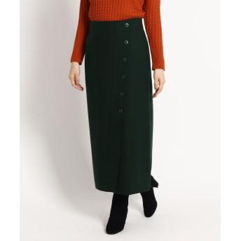 Dessin(Ladies)(デッサン(レディース)) 【S~Lサイズあり】サキソニーボタンタイトスカート