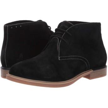 [ハッシュパピー] シューズ ブーツ・レインブーツ Bailey Chukka Boot Black Sued レディース [並行輸入品]