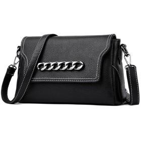 新しいシンプルなレトロな磁気金属装飾的な大きな正方形のPUショルダーバッグメッセンジャーバッグ