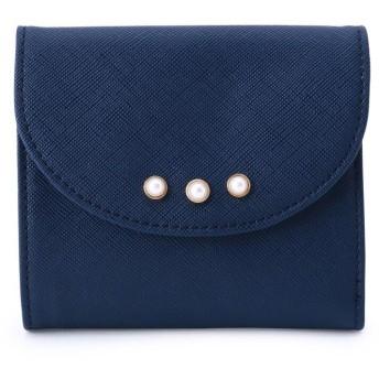 SHOO・LA・RUE/DRESKIP(シューラルー/ドレスキップ) フェイクパール三つ折り財布