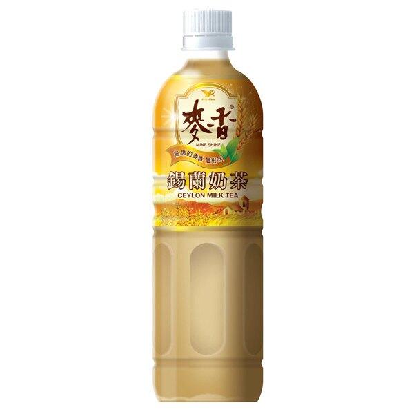 統一 麥香 錫蘭奶茶 600ml (4入)/組【康鄰超市】