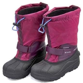[コロンビア] 男の子 キッズ 子供靴 運動靴 通学靴 スノーブーツ ユースパウダーバグフォーティ 保温 カジュアル 学校 YOUTH POWDERBUG FORTY BY1324 ワインベリー/アークティックブルー 20.0cm
