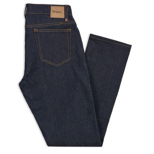 Brixton Reserve 5-Pocket (Raw Indigo) 牛仔褲《Jimi Skate Shop》