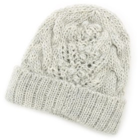 ポコポコアラン編みニット帽