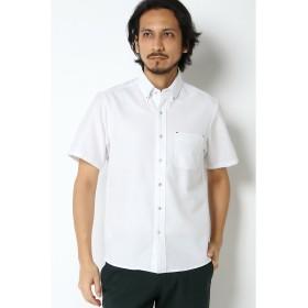 【46%OFF】 イッカ COOLMAXカラミシャツ メンズ ホワイト S 【ikka】 【セール開催中】