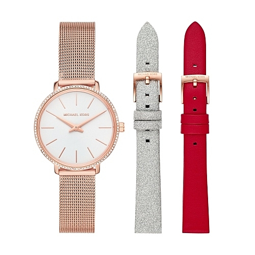 MICHAEL KORS紐約時尚米蘭帶套組腕錶MK4418