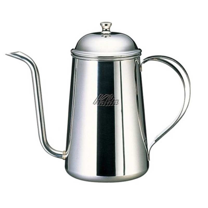 【沐湛咖啡】日本原裝 Kalita 700ML不銹鋼 手沖壺 細口壺 宮廷壺 0.7L 注水穩定