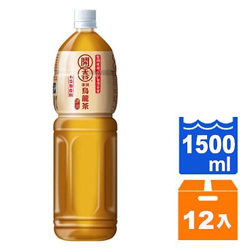 開喜 凍頂烏龍茶-清甜 1500ml (12入)/箱【康鄰超市】