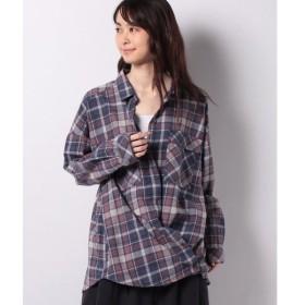 【サマンサ モスモス】オゾン加工2wayチェックシャツ