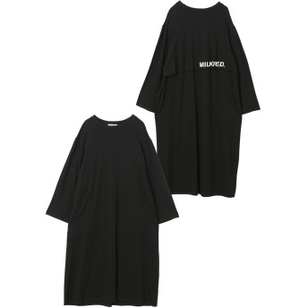 LAYERED BACK DRESS