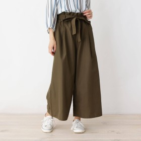 SHOO・LA・RUE/Cutie Blonde(シューラルー/キューティーブロンド)/ウエストギャザーワイド裾くるっスカンツ
