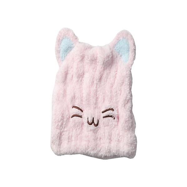 MORINO超細纖維造型速乾浴帽-貓咪【康是美】