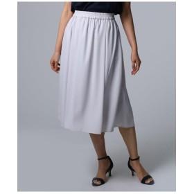 【洗える】ウエストギャザースカート