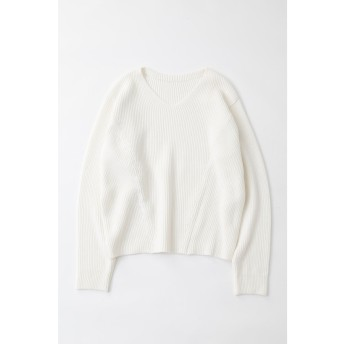 BOATNECK 2WAY KNIT トップス