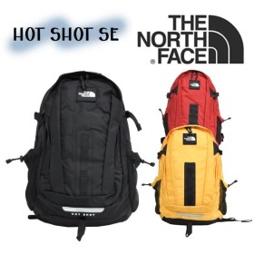 ザノースフェイス ホットショット スペシャルエディション バックパック メンズ レディース ブラック イエロー レッド THE NORTH FACE HOT SHOT SE NF0A3KYJ