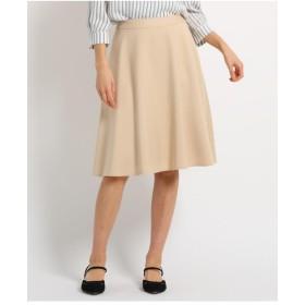 【マシンウォッシュ】ストレッチ台形スカート