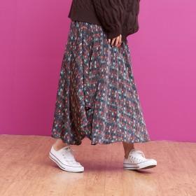 Rouge vif(ルージュ・ヴィフ)/チェックプリントスカート