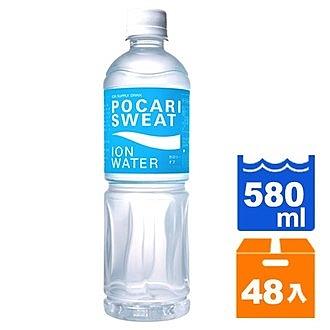 寶礦力水得 ION WATER低卡運動飲料 580ml (24入)x2箱【康鄰超市】