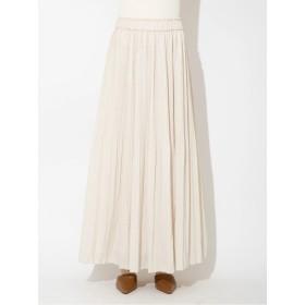フロレットプリーツマキシスカート