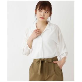 楊柳スキッパーシャツSET