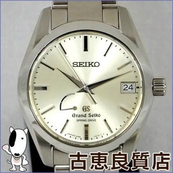 Seiko セイコー Grand Seiko グランドセイコー メンズ 腕時計 自動巻き スプリングドライブ パワーリザーブ SBGA083 9R65-0BH0 値下げ (hon)