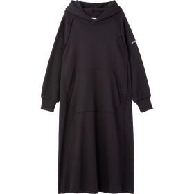 RAGLAN SLEEVE HOODED DRESS