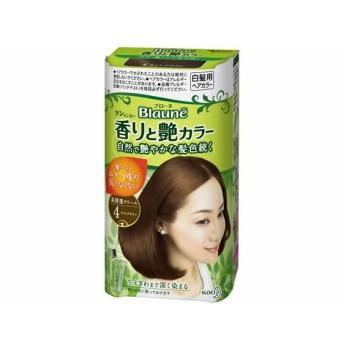 ブローネ 香りと艶カラークリーム 4 KAO