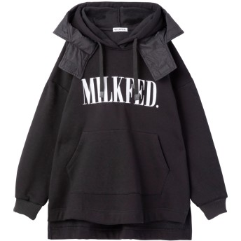DOUBLE LAYER HOODED TOP
