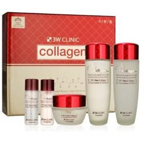 3Wクリニック[韓国コスメ3W Clinic]Collagen Skin Care 3Set コラーゲンスキンケア3セット樹液,乳液,クリーム [並行輸入品]