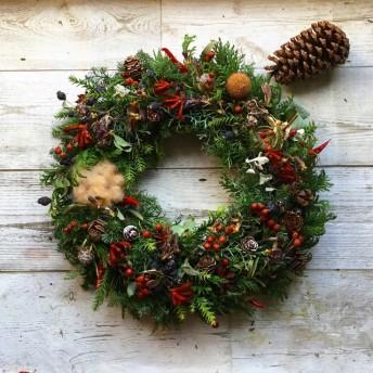 Christmas wreath!Atelierkouan