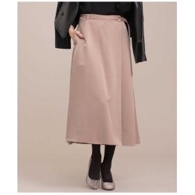 サテンラップ風スカート