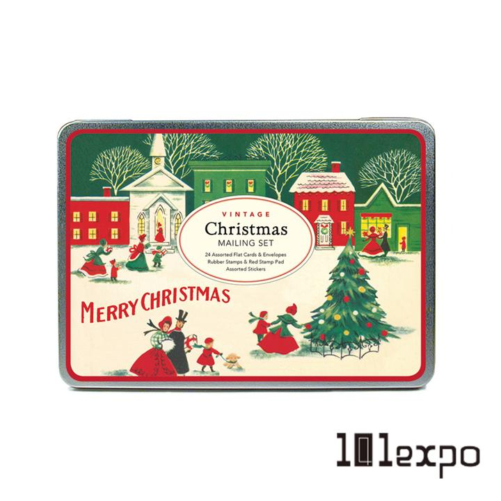 CAVALLINI&CO 復古聖誕節郵寄套組