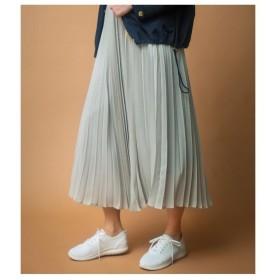 【WEB限定サイズあり】花柄プリーツロングスカート