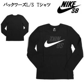 2019 NIKE ナイキ バックワーズL/S Tシャツ