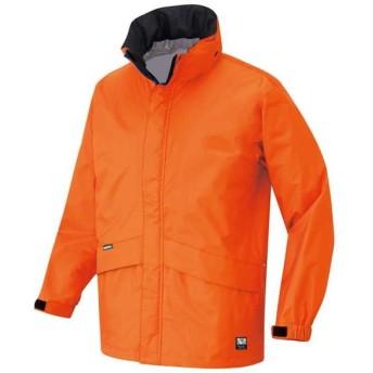 アイトス 全天候型ベーシックジャケット カラー:オレンジ サイズ:M (ディアプレックスジャケット)【4548413796890:11057】