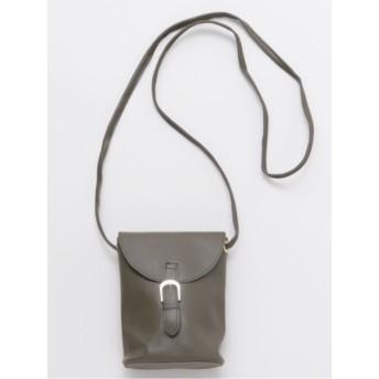 【カヤ】彩り樽型ミニショルダーバッグ
