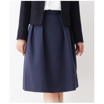 【入卒・大きいサイズあり・13号・15号】普段使いしやすいツヤ感Aラインスカート