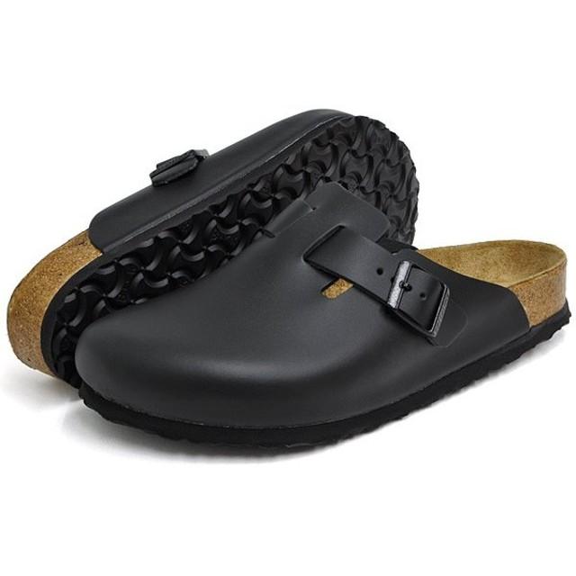 ビルケンシュトック サンダル メンズ レディース ボストン ソフトフットベッド ブラック BIRKENSTOCK BOSTON SOFT FOOTBED BLACK 0060411 0060413