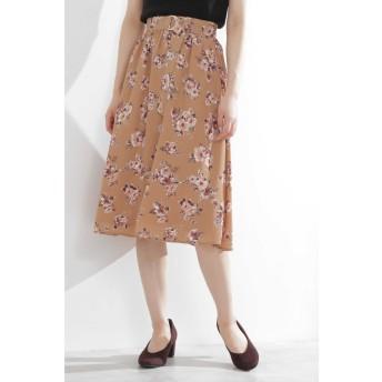 ◆クレールフラワーギャザースカート